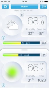 weather station ipad app