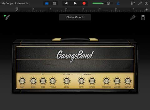 Grageband for iPad
