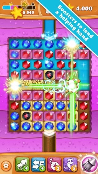 Diamond Digger Saga on iPad