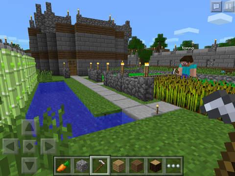 Minecraft on iPad - Cool iPad Apps
