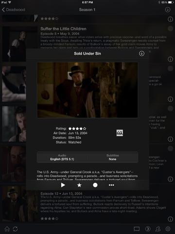 Plex App on iPad