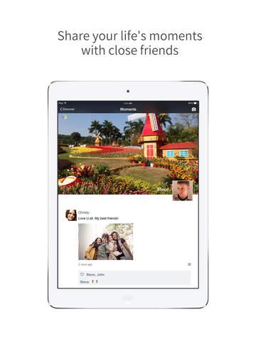 WeChat on iPad