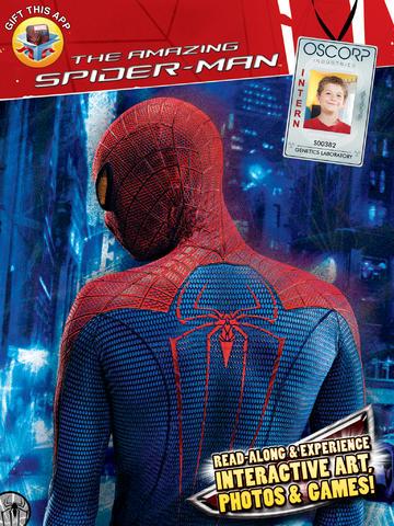 Spider Man AR Book HD