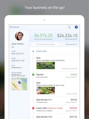 Quickbooks App on iPAd